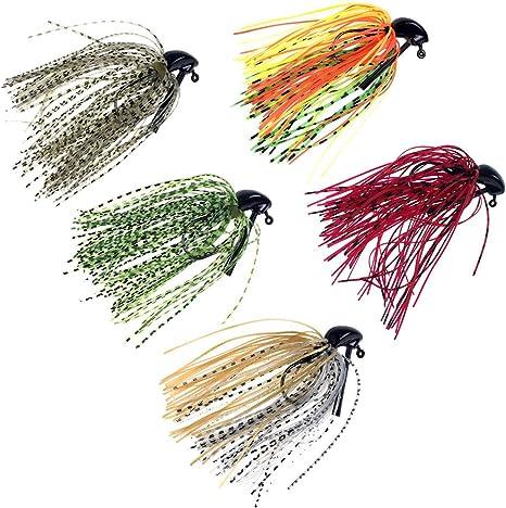 THKFISH® Plantillas de pesca Bass, 7g / 10g (1 / 4oz) / (3 / 8oz ...