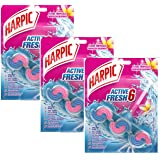 Harpic Active Fresh Bloc Cuvette Fleurs Tropicales Lot de 3
