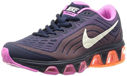 Nike Women's WMNS Air Max Tailwind 6 Running Shoes, Azul Marino  (Obsidian/Sail