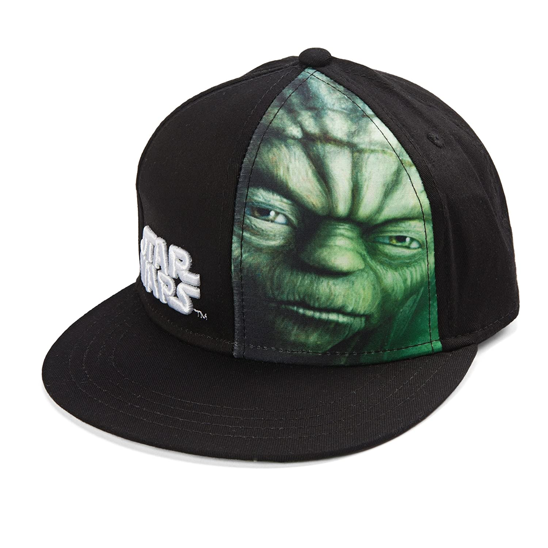 Star Wars Yoda Graphic Art Design Snapback Cap Toy Zany ECSW3076
