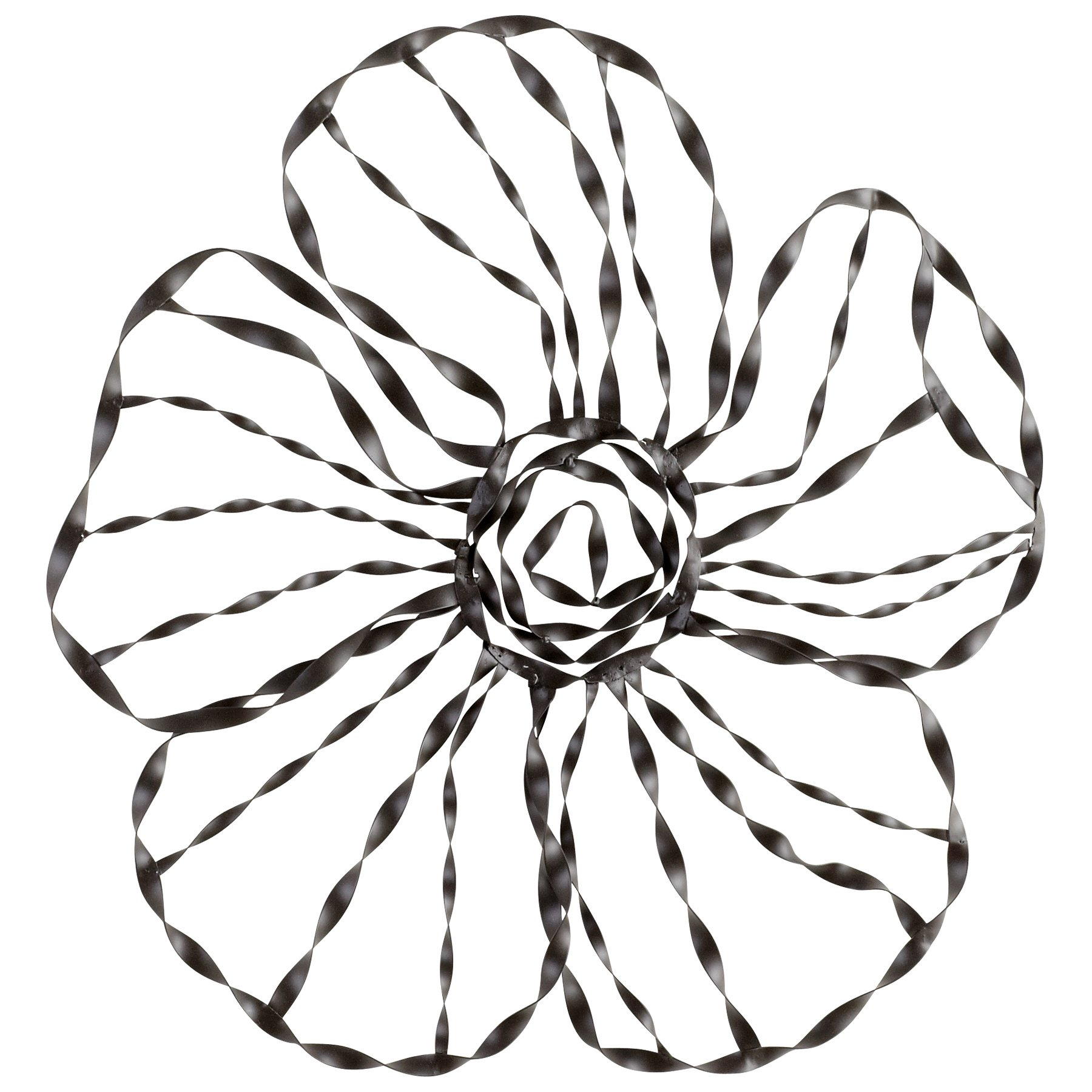 Cyan Design 05840 Petal Pusher Wall Decor,Small Ideal Gift for Wedding, Floral/Floor Vase, Party, Home Decor, Office, Spa
