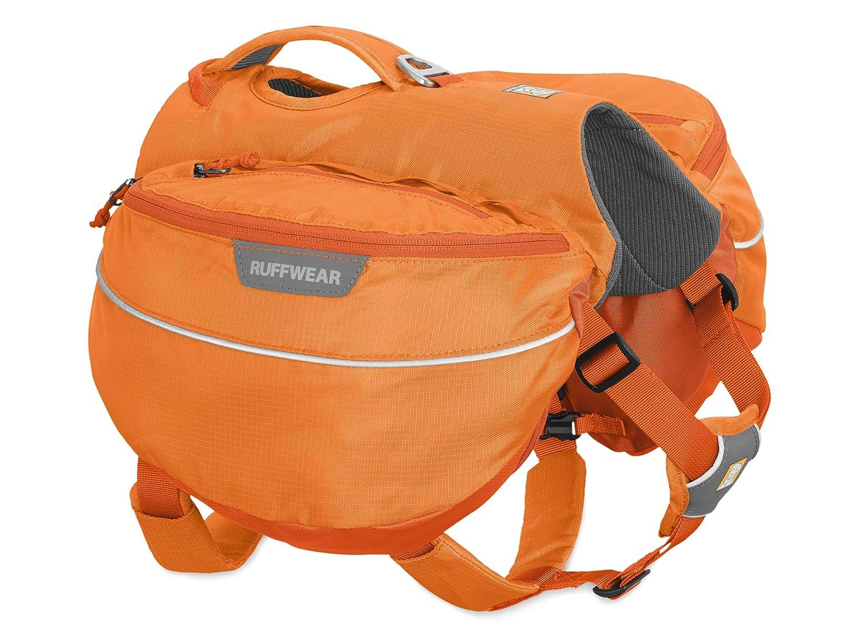 orange Poppy Large X-Large orange Poppy Large X-Large RUFFWEAR Approach Full-Day Hiking Pack for Dogs, orange Poppy, Large X-Large