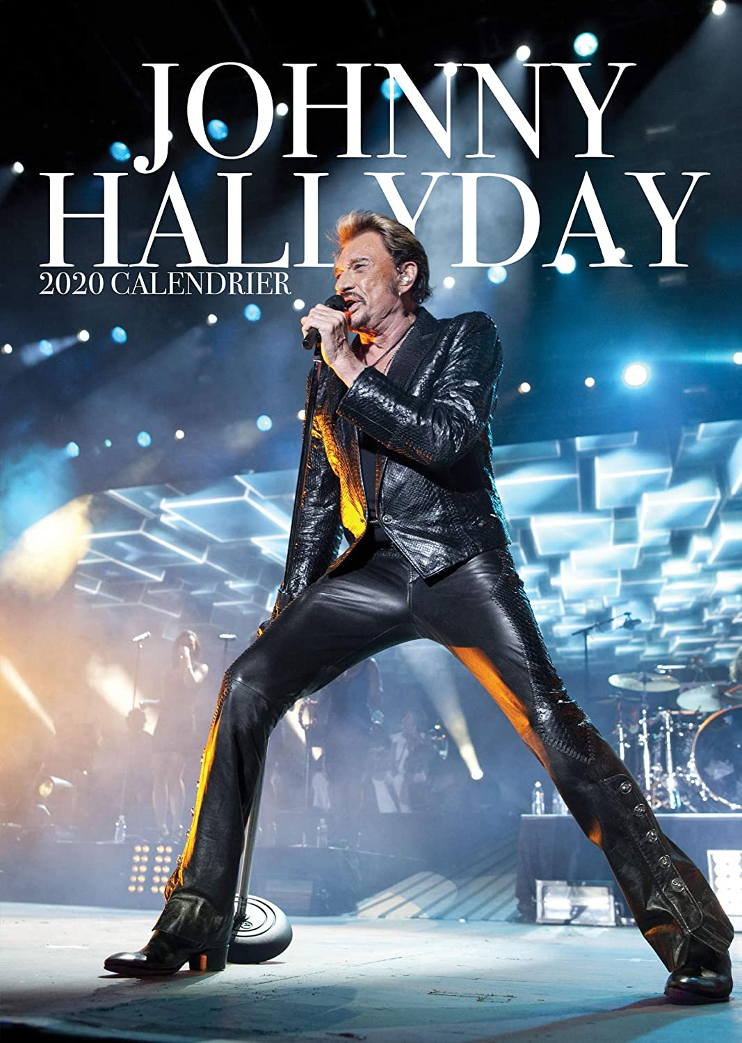 Calendrier 2020 Johnny Hallyday Officiel.Johnny Hallyday Calendrier 2020 Limited French Edition Metal Machine Aimant De Refrigerateur