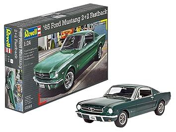 Revell- Maqueta 1965 Ford Mustang 2 + 2 Fastback, Kit Modelo ...