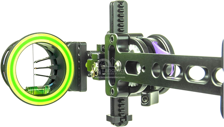 "Spot Hogg Fast Eddie MRT Adjustable Sight-Black-RH//Single Pin//0.019/"""
