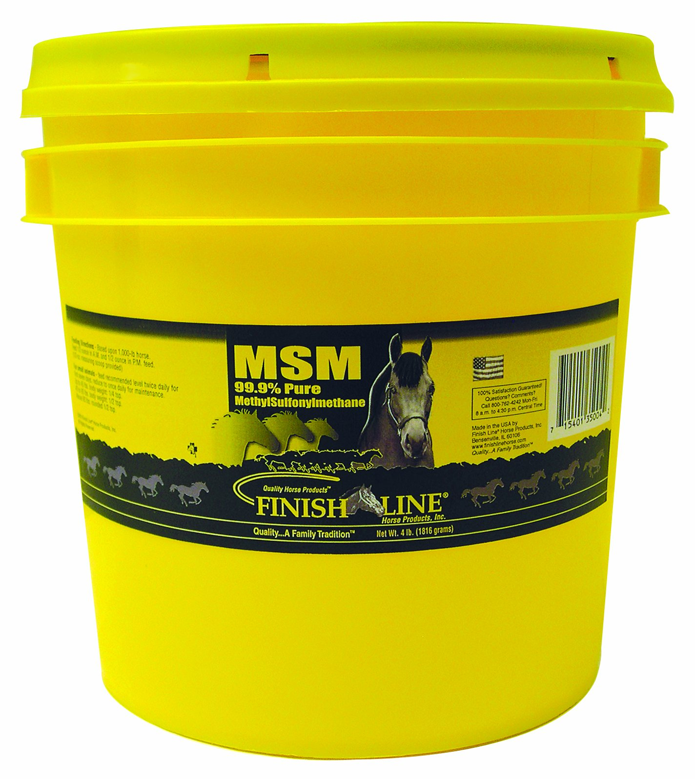 Finish Line Horse Products Msm (4-Pounds)