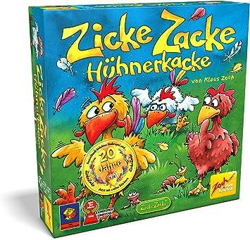 Zoch Zicke Zacke Hühnerkacke Niños Juego de Mesa de Aprendizaje ...