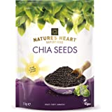 Terrafertil Nature's Heart Chia Seeds, 1 kg