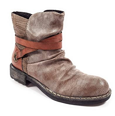 Rieker 746k0 Bottes Et Boots Femme Semelle Amovible
