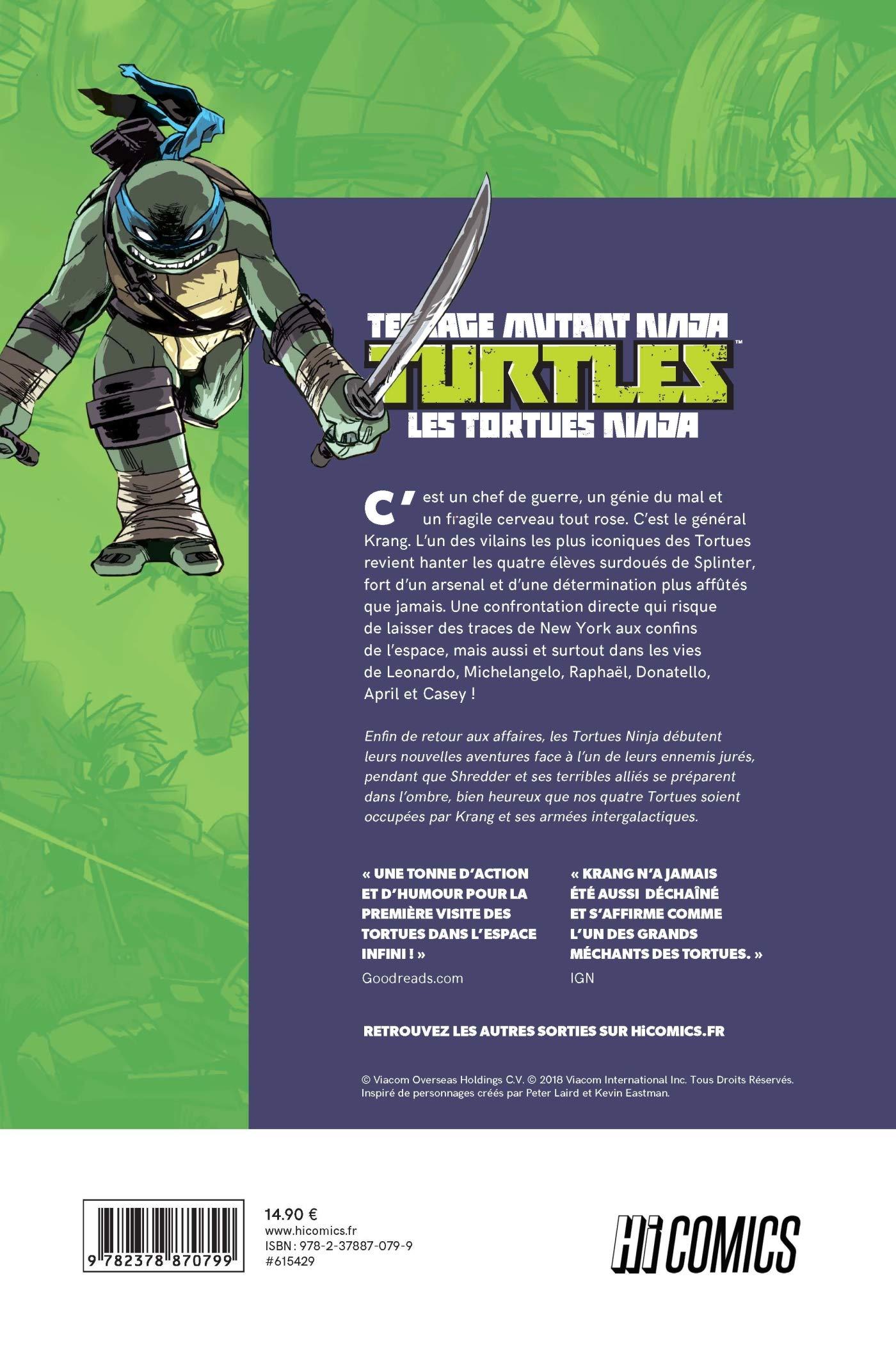 Teenage Mutant Ninja Turtles - Les tortues ninja, Tome 1 ...