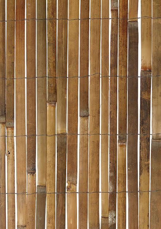Primrose - Mampara de tiras de bambú (5 x 1 m): Amazon.es: Jardín