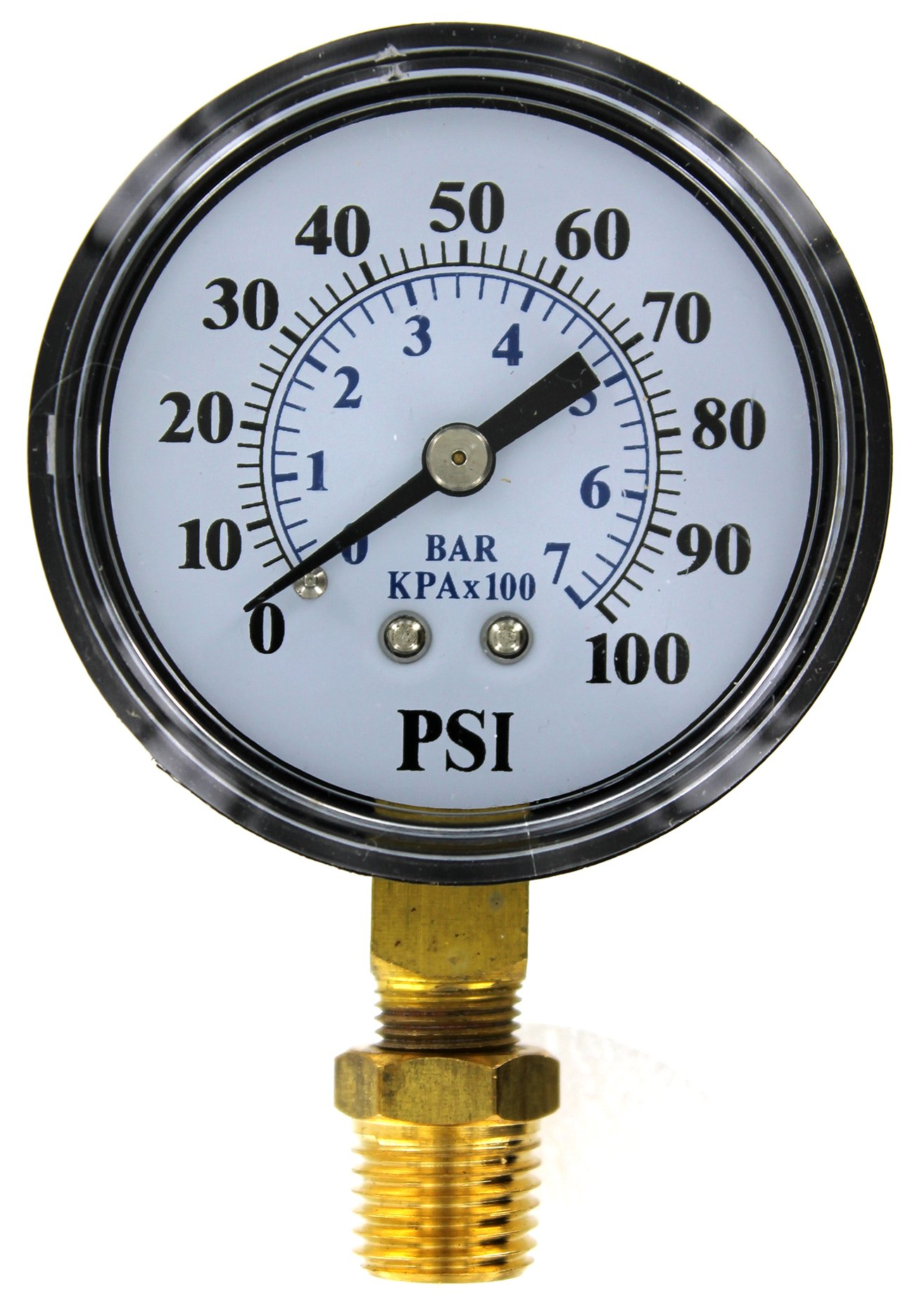 Brands2O TC2104-P2 Well Pump Pressure Gauge by Flotec