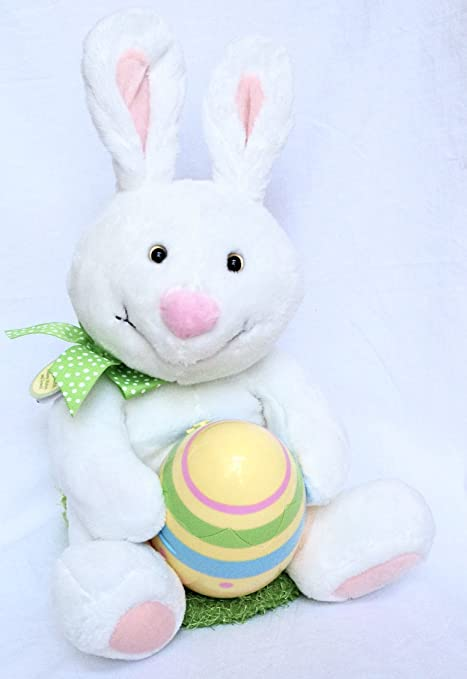 Amazon hallmark rockin rabbit 13 plush motion sound easter hallmark rockin rabbit 13quot plush motion sound easter bunny negle Image collections