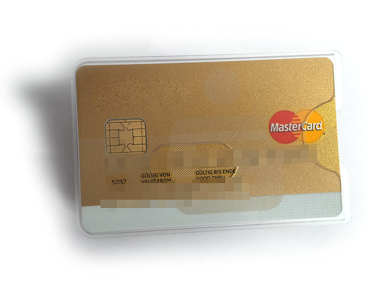Ec-karte Hülle Kartenhülle Begeistert 10x Schutzhülle Kartenschutzhülle Kreditkarte