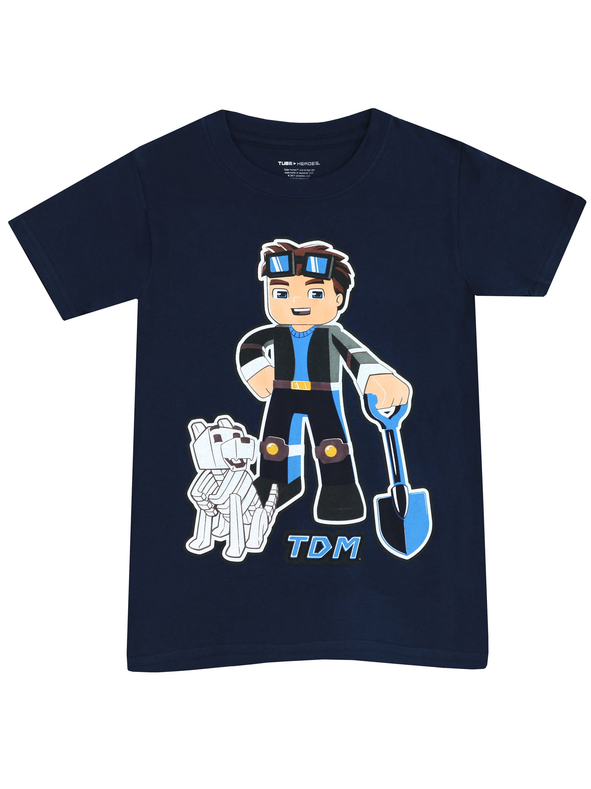 Dan TDM You Tube Heroes Pyjamas The Diamond Minecart 7 to 13 Years