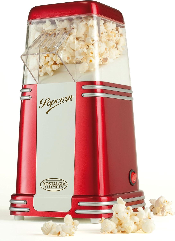 Guzzanti FC 120 palomitas de maiz poppers - Palomitero (160 x 160 x 300 mm, 970g) Rojo: Amazon.es: Hogar