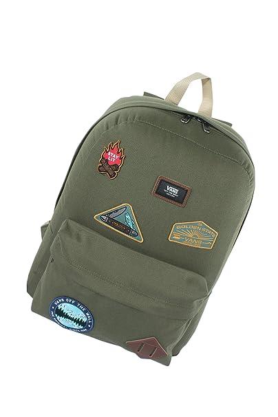 64c75194301bc1 Vans Old Skool II Backpack - Parks   Wrecks Olive  Amazon.ca  Clothing    Accessories