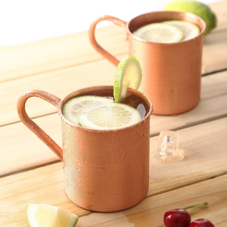 Magisor 100% Pure Copper Moscow Mule Mug (Set Of 2)(14.5 OZ)