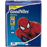Goodnites New Bedtime Bedwetting Underwear for Boys, 28 bedtime pants, X-Small