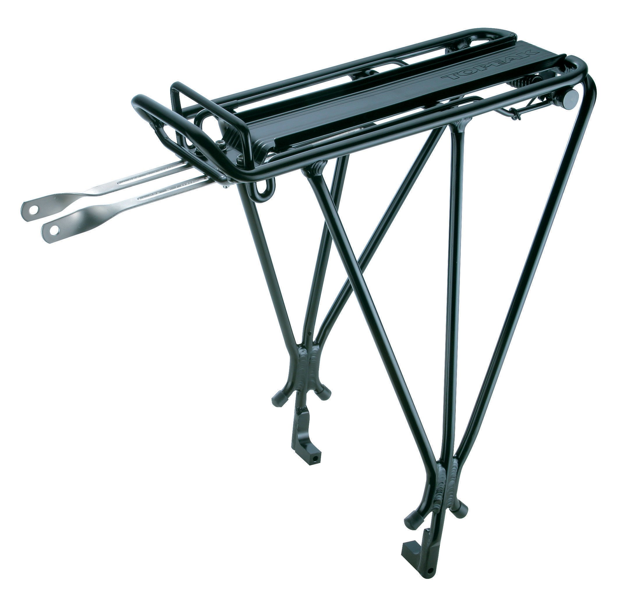 Topeak Explorer Bicycle Rack with Disc Brake Mounts and Spring by Topeak (Image #1)