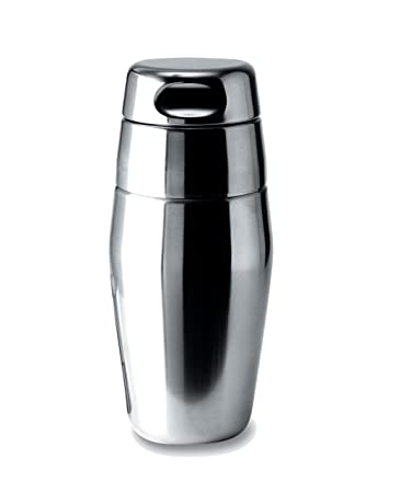 Alessi 17-Ounce Cocktail Shaker, Satin Finish – 870 50