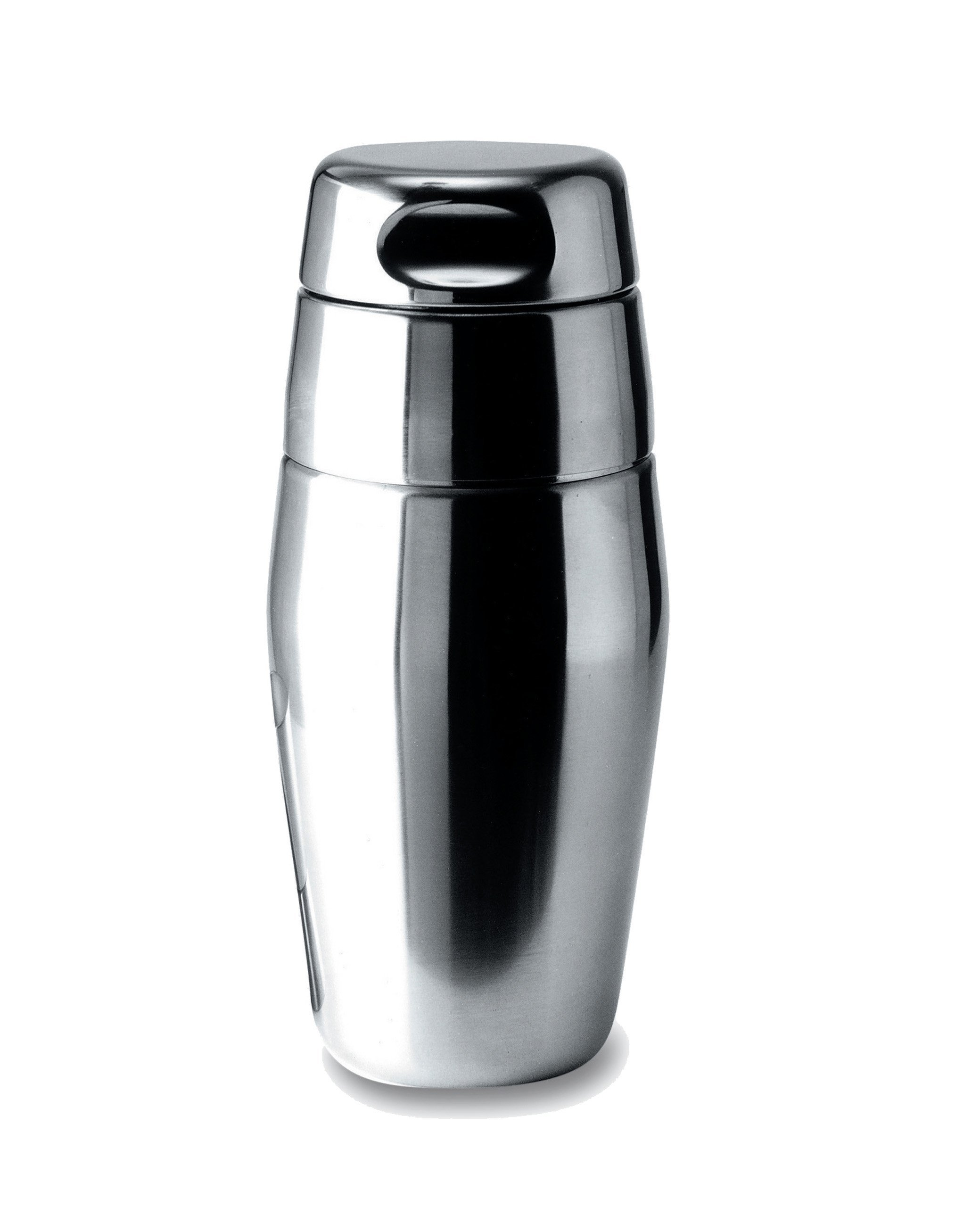 Alessi 17-Ounce Cocktail Shaker, Satin Finish