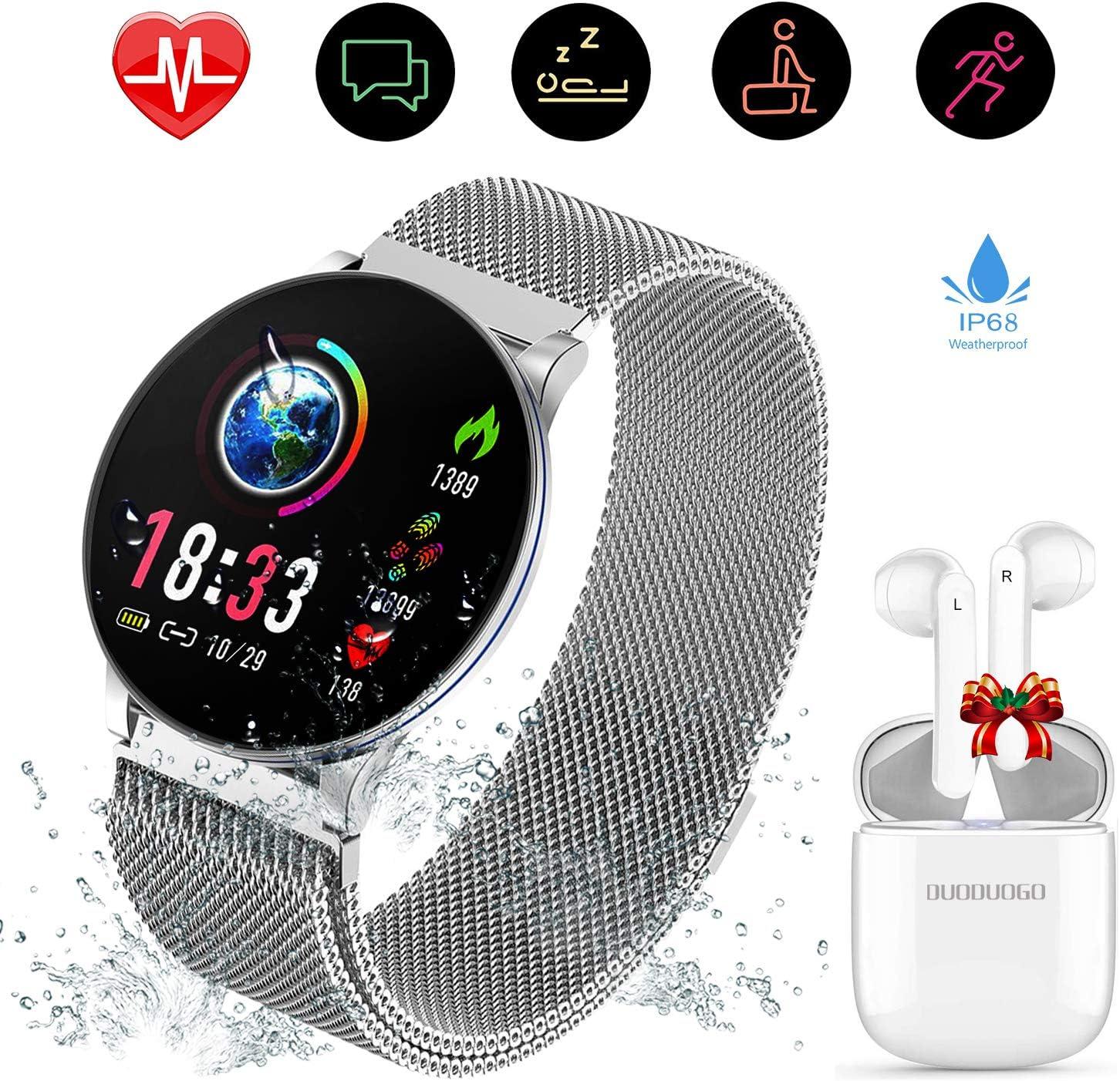 Smartwatch, Reloj Inteligente IP67 y 1.3 Pulgadas Pantalla HD IPS ...