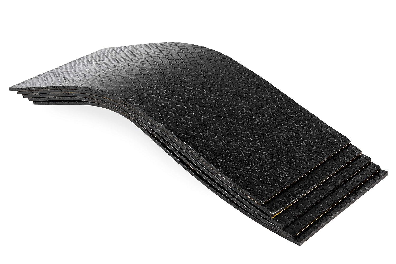Antidr/öhnmatte D/ämmmatte Selbstklebend 500x200x5,5mm 50 St/ück Bitumenmatte
