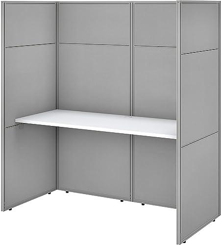 Best home office desk: Bush Business Furniture Easy Office Cubicle Desk Workstation