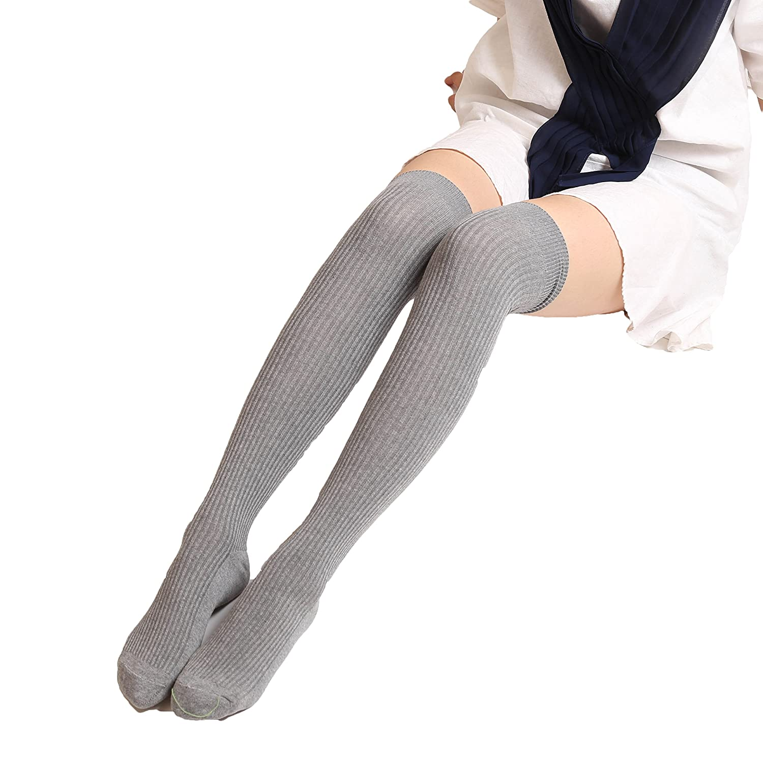 0227e6582a9a7 Womens Thigh High Socks: Our thigh high socks measure 25