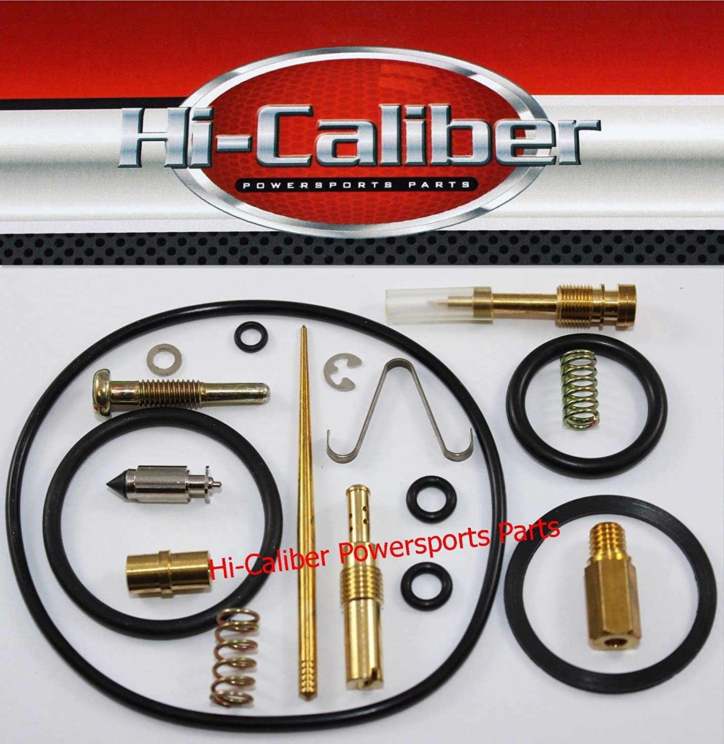 HI-CALIBER POWERSPORTS PARTS Carburetor Carb Rebuild Kit FOR 1983 Honda ATC 200