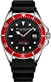 Stuhrling Original Watches for Men - Pro Diver Watch - Sports Watch for Men with Screw Down Crown for 330 Ft. of Water…