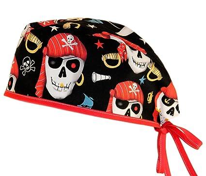 8eb4206eb GORROS QUIROFANO MASCULINO - Piratas: Amazon.es: Salud y cuidado ...