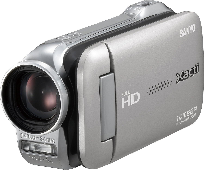SANYO デジタルムービーカメラ Xacti GH1 シルバー DMX-GH1(S)  シルバー B003G30C2E