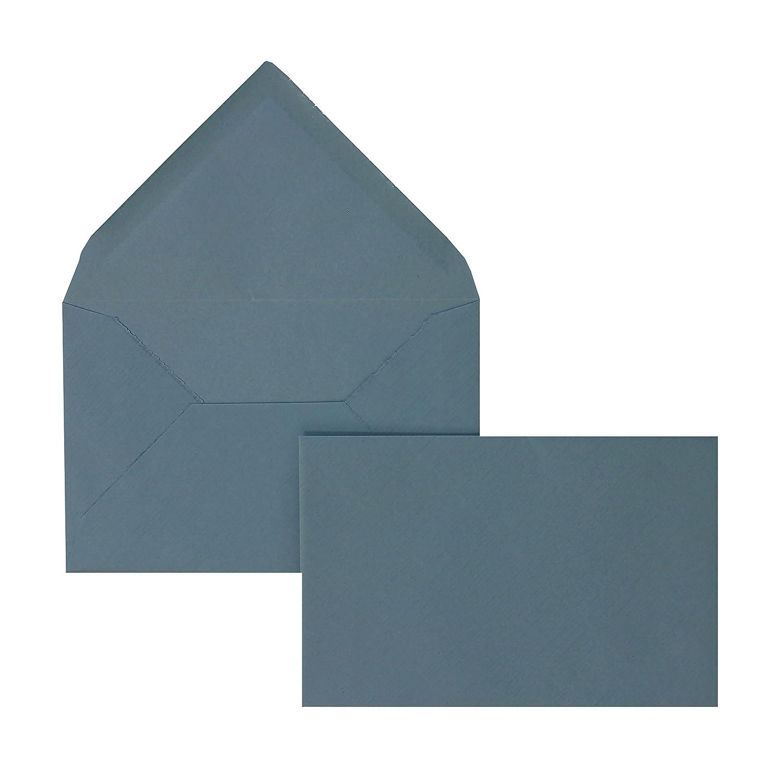 Blanke Briefhüllen - 100 100 100 Briefhüllen im Format 95 x 145 mm in Blau gerippt B00FPO90NY | Offizielle  | Erlesene Materialien  | Elegantes und robustes Menü  a4a970