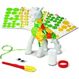 Melissa & Doug Decoupage Made Easy Giraffe Paper Mache Craft Kit With Stickers