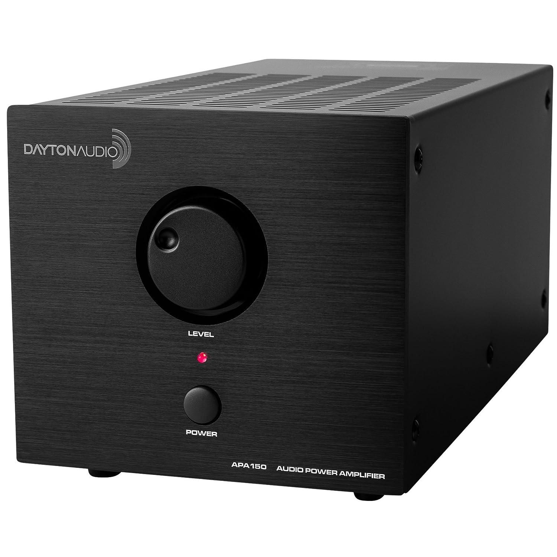 Dayton Audio APA150 150-Watts Power Amplifier (Black)