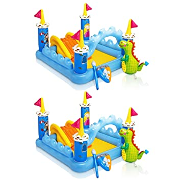 Amazon.com: Intex Fantasy Castillo hinchable para juegos de ...