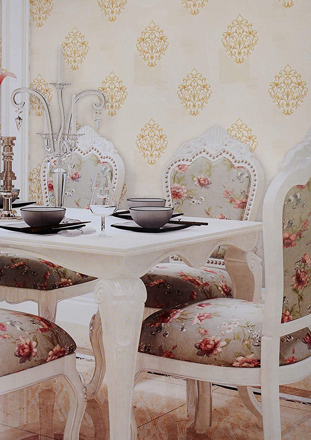 asri interiors exclusive designer home wallpaper roll 57 sq feet for living room decoration bedroom restaurant tv background hall amazon in home kitchen asri interiors exclusive designer home
