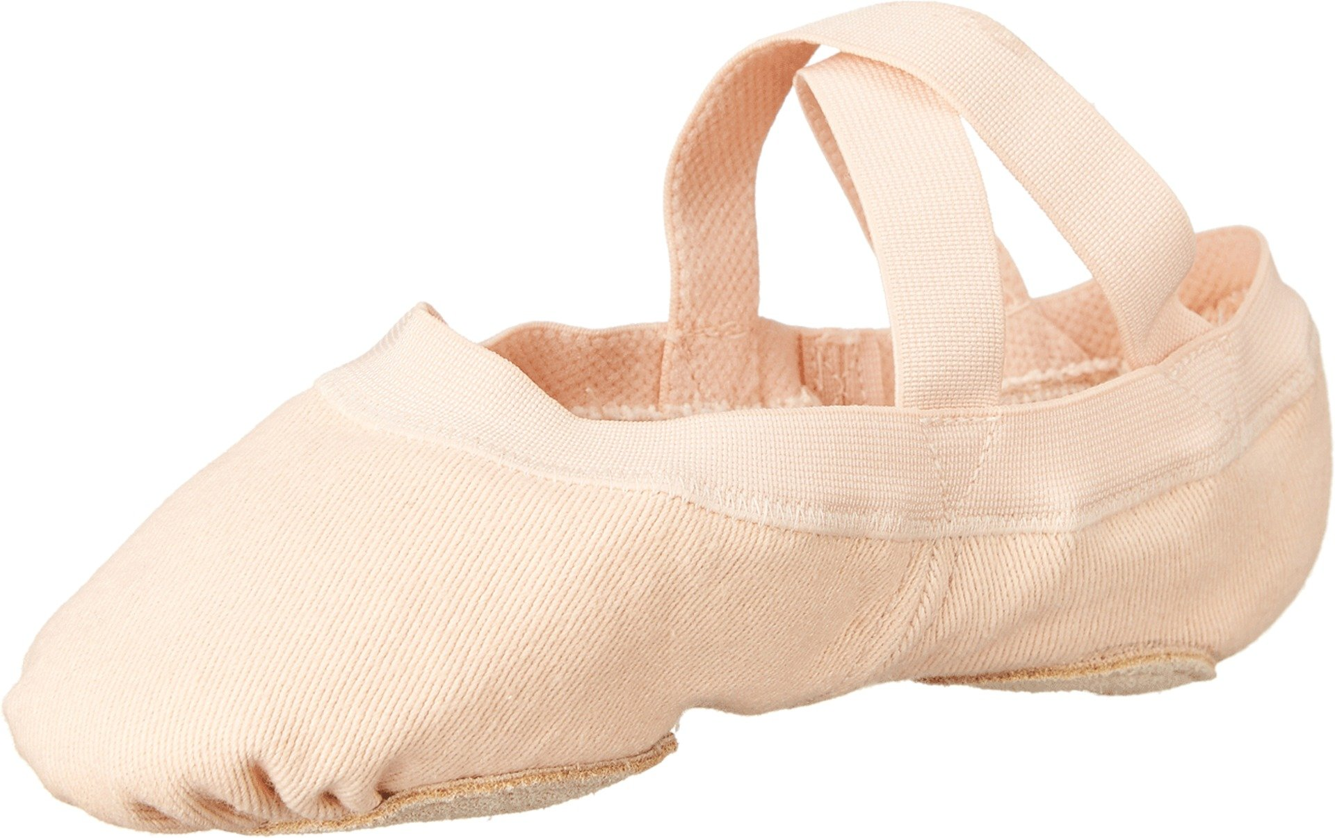 Bloch Dance Girl's Synchrony Ballet Flat, Pink, 13.5 C US Little Kid