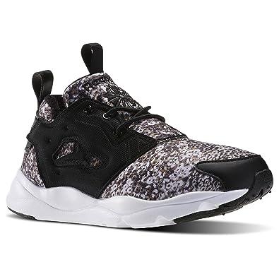 Reebok Classic Furylite Winter Schuhe Damen Sneaker Turnschuhe Schwarz  V70754, Größenauswahl:40.5