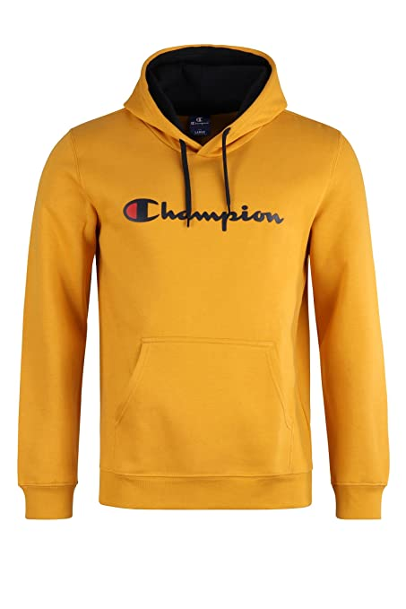 Champion Hooded Sudadera. Suave y cálida Material Resistente. Capucha Forrada. Kang Canguro.