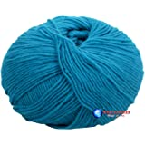 Woa Fashions Lovable Acrylic Hand Knitting Yarn - Pack Of 4 (Turquoise Blue) (200Gms)