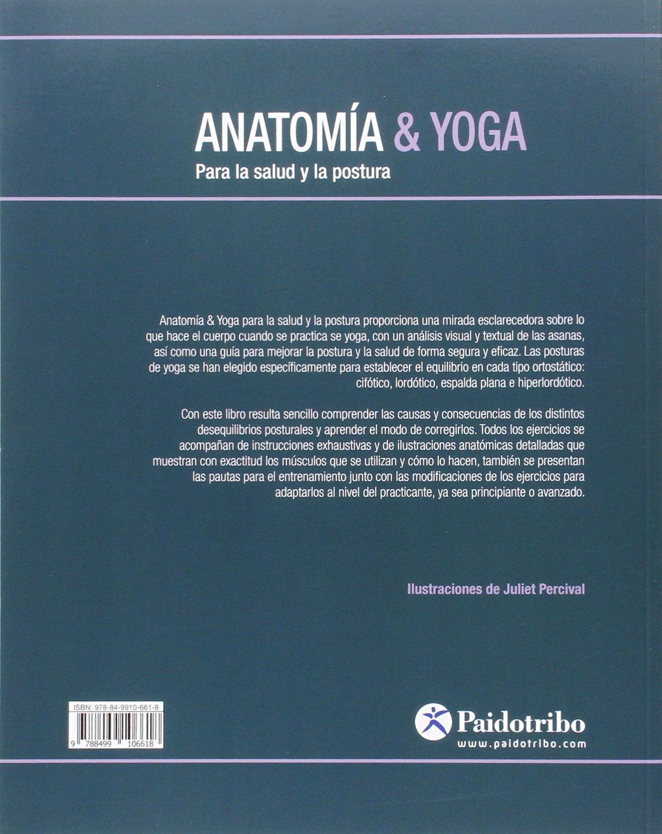 Anatomía & Yoga Para la salud y la postura: Amazon.es ...