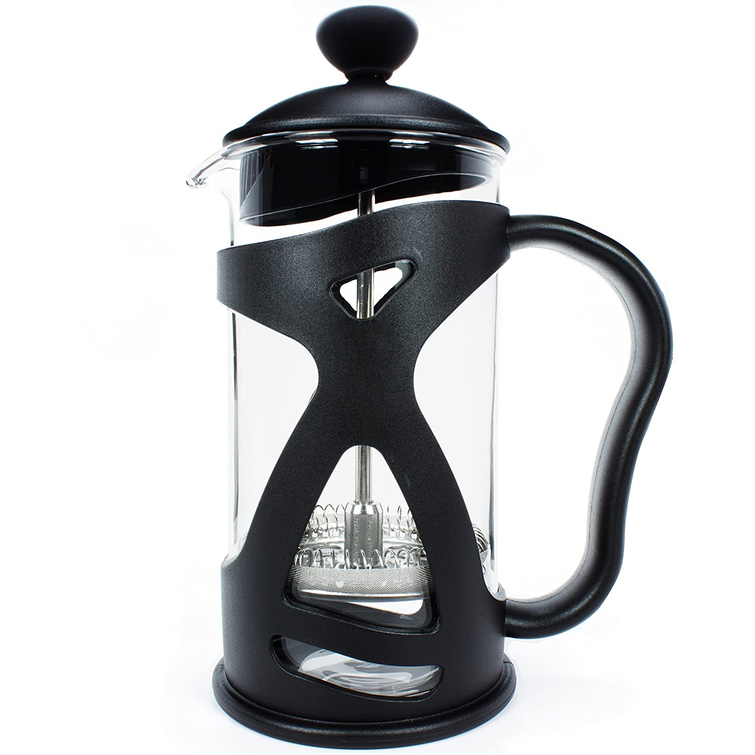 KONA French Press Small Single Serve Coffee and Tea Maker - 12 Ounce