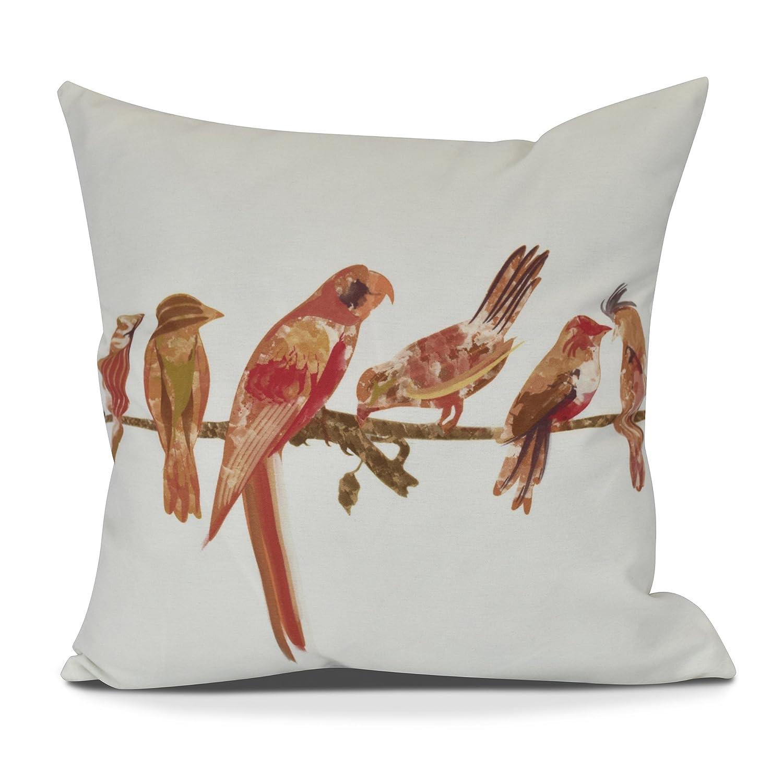 E byデザイン朝鳥装飾動物スローアウトドア枕、16、