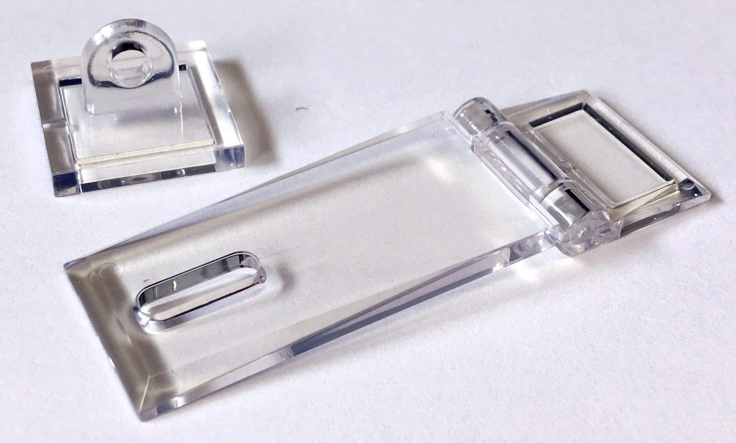 Acryl-HASP Acrylic Hasp 25 pack by FTM, Inc.