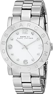 1f204a48ce1 Marc by Marc Jacobs Women s MBM3054 Amy Stainless Steel Watch with Link  Bracelet