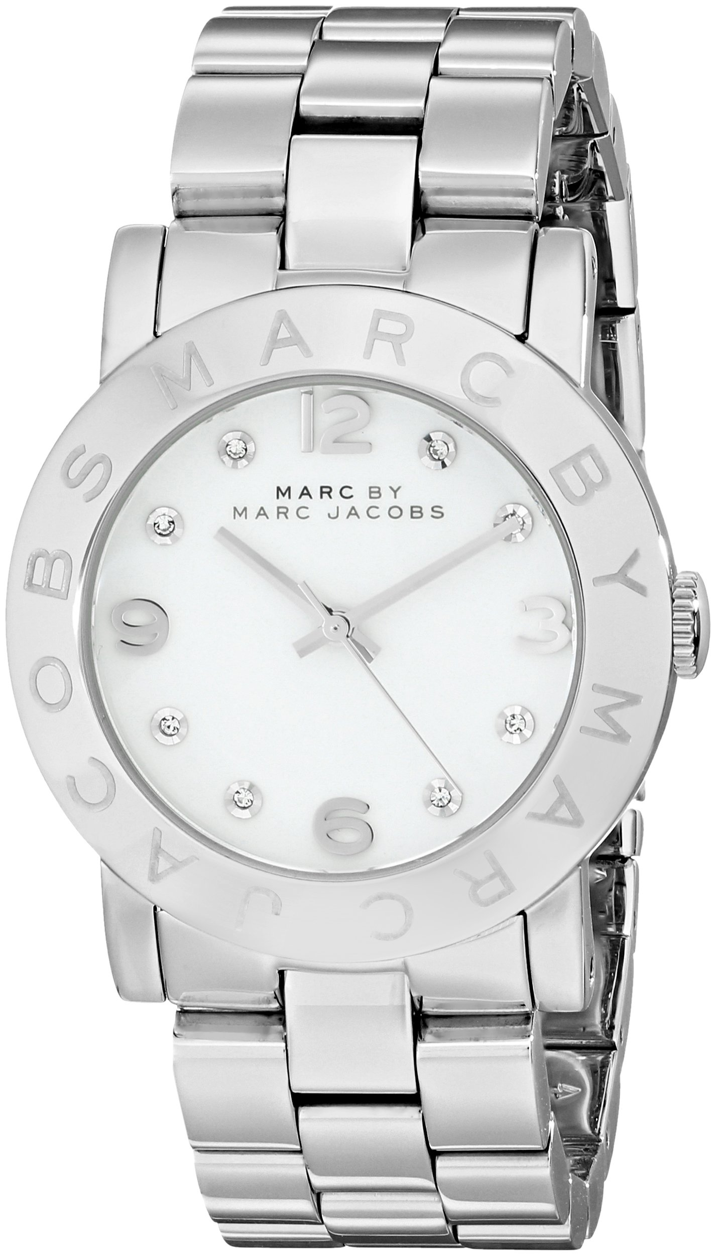 Marc by Marc Jacobs Women's MBM3054 Amy Stainless Steel Watch with Link Bracelet