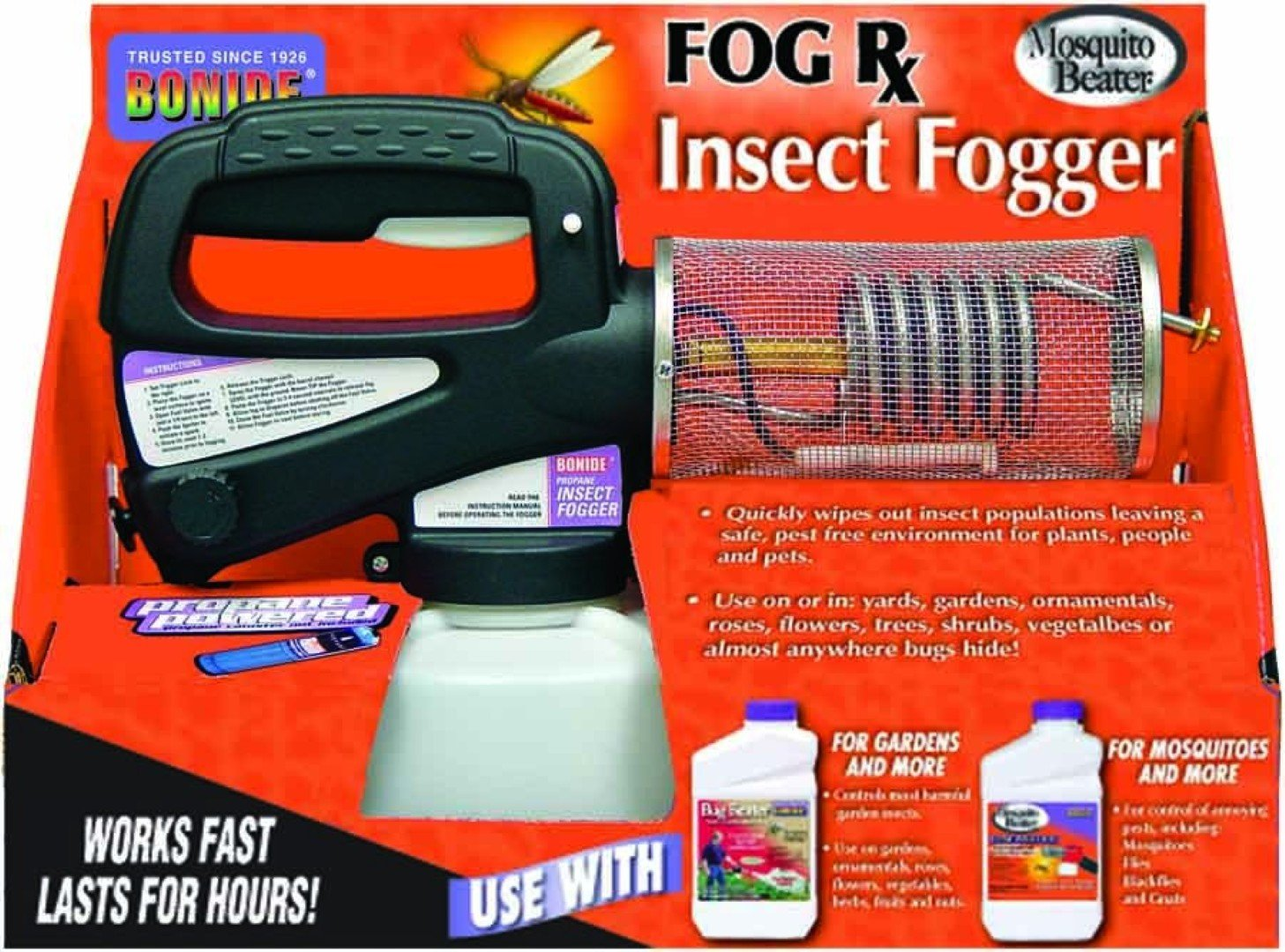 what is the best outdoor mosquito fogger